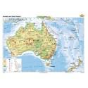 Australia şi Noua Zelanda 140x100 cm