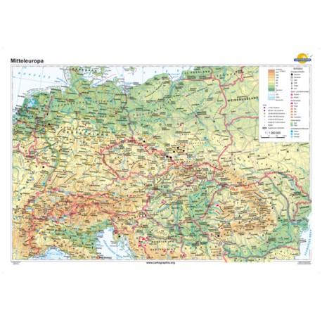 Europa Centrală 160x120 cm