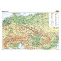 Europa Centrala 100x70 cm