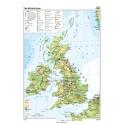 Marea Britanie şi Irlanda 100x140 cm