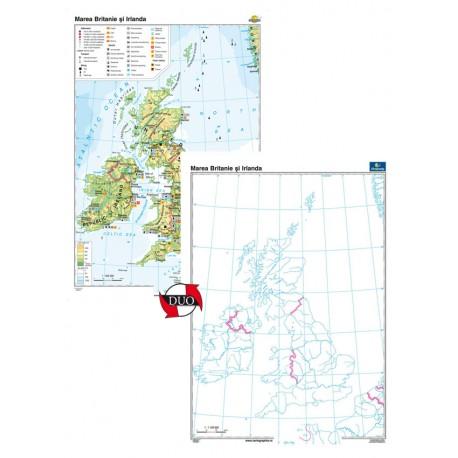 Marea Britanie şi Irlanda – Duo 120x160 cm
