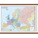 Europa. Harta politica 700x500mm