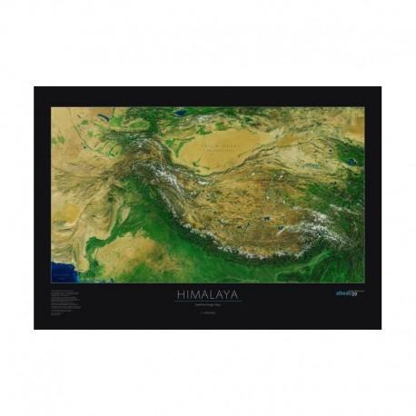 Himalaya / Tibet. Harta regionala albedo 39