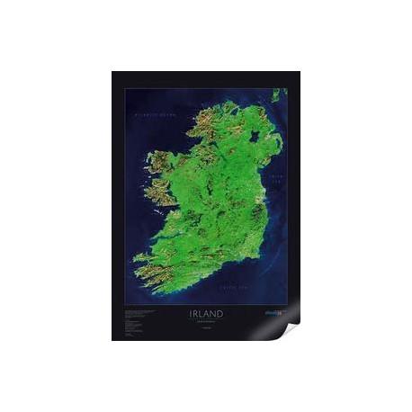 Irlanda. Harta albedo 39