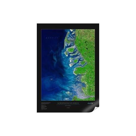 Insulele Frisice de Nord. Harta regionala albedo 39