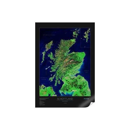 Scoţia.Harta albedo 39