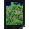 Germania. Harta satelitara albedo 39