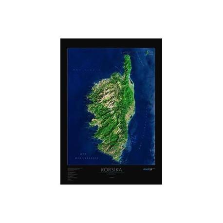 Corsica. Harta regionala albedo 39