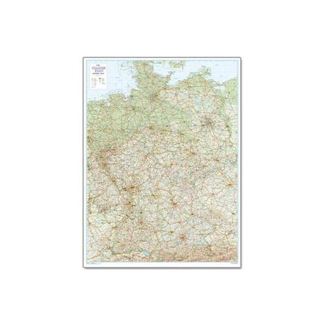 Harta străzilor Germania 1:500.000 Bacher Verlag